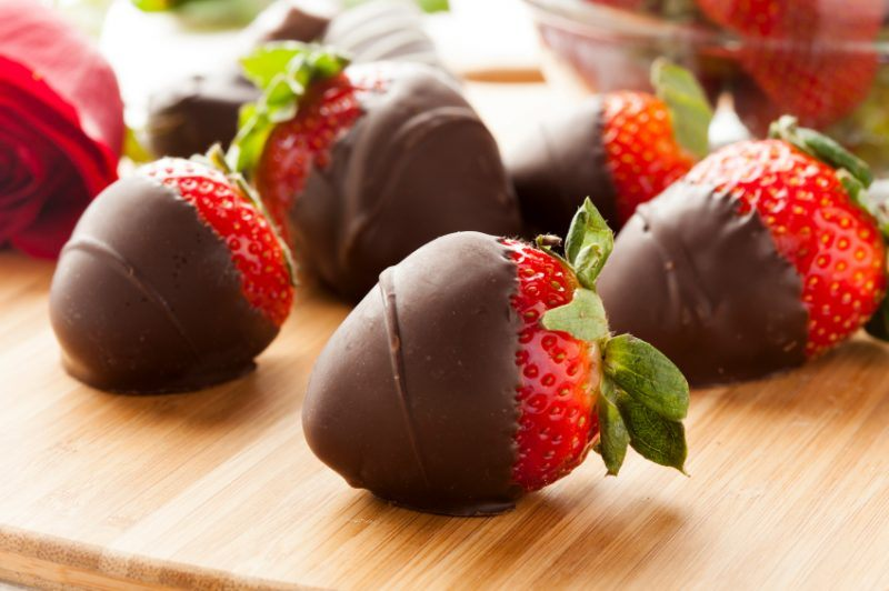 Chocolate covered strawberry sale